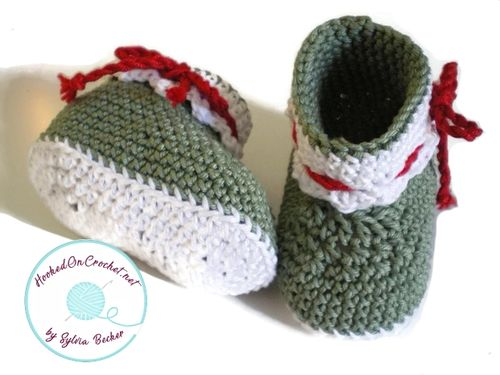Crochet Baby Ankle Booties Little Elf