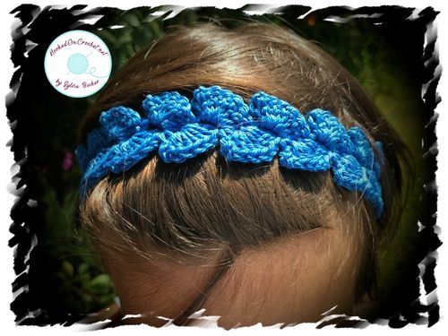 Crochet Back To School Headband, various colours