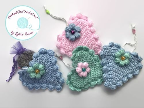 Crochet Heart Nursery Decoration