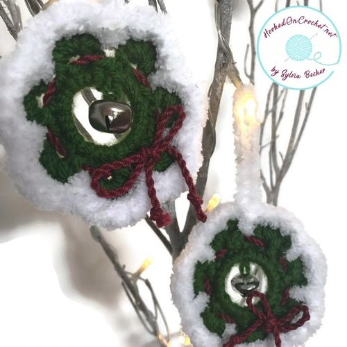 Easy Crochet Pattern Christmas Wreath