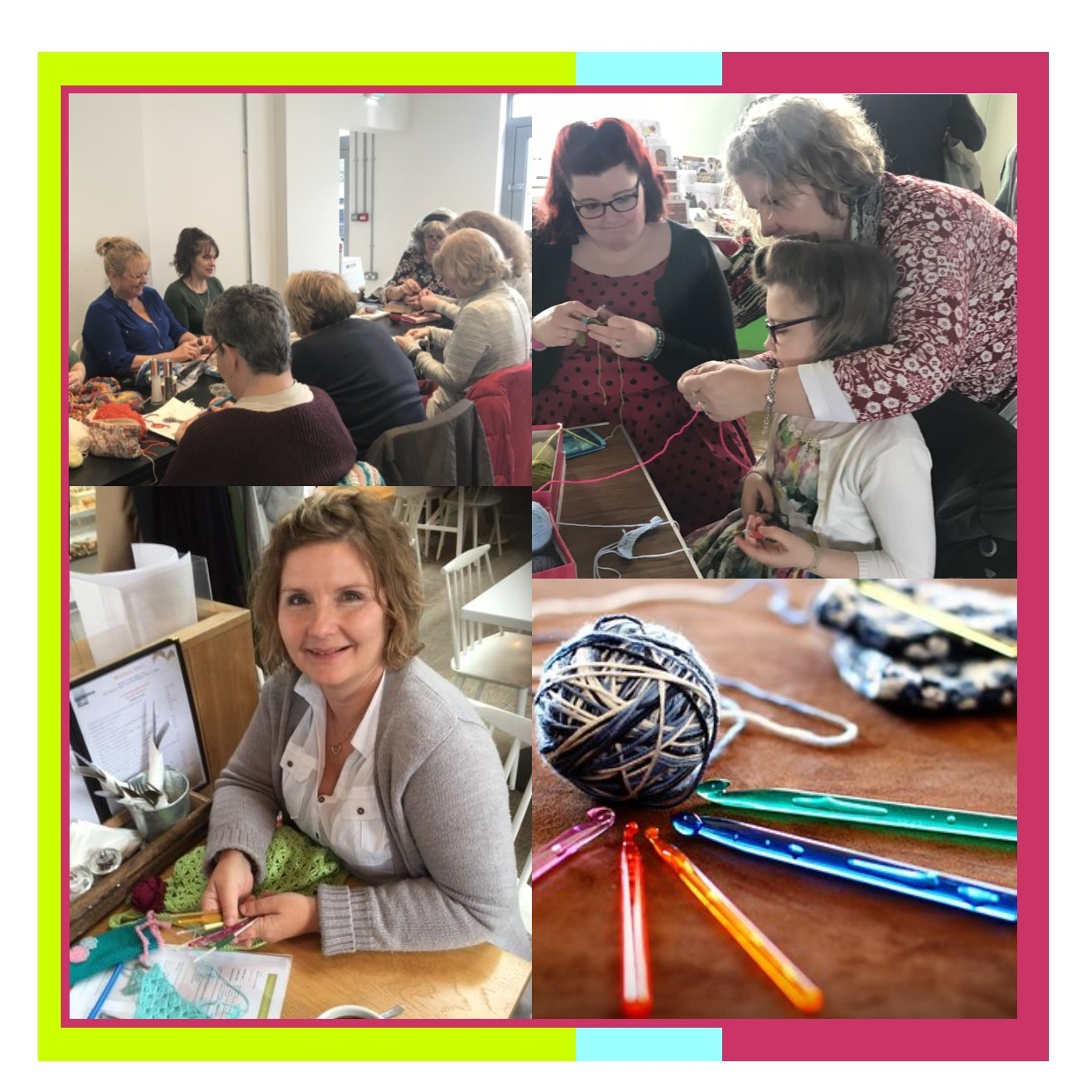Learn_it - crochet classes and workshops in Eltham (Borough of Greenwich, South East London)