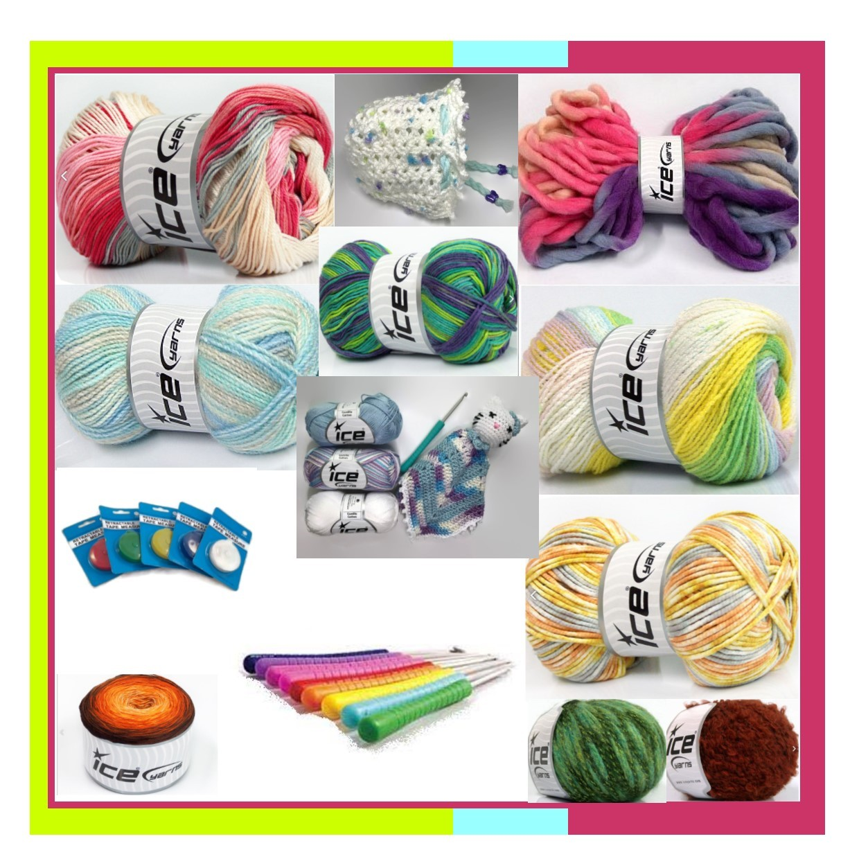 Make_it - yarns, hooks, patterns and other crochet supplies, online yarn shop